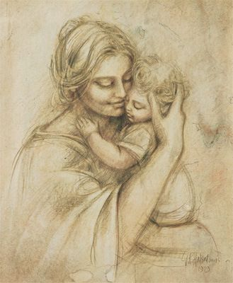 Mary Cassat, Mother and Child
