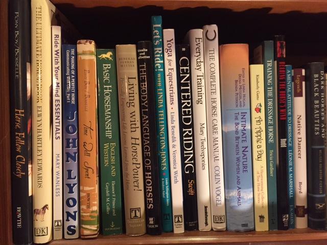 More horse books.