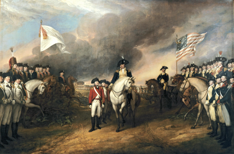 The Surrender of Lord Cornwallis, by John Trumbull